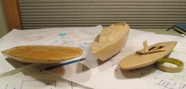 balsa boats